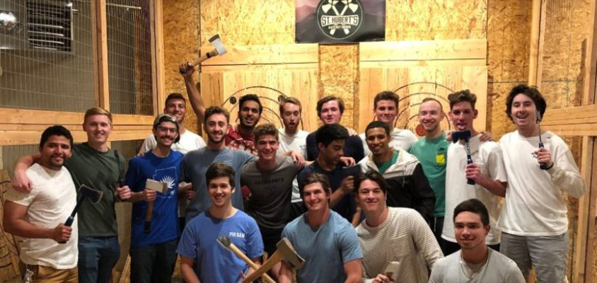 Upsilon Alpha Axe Throwing